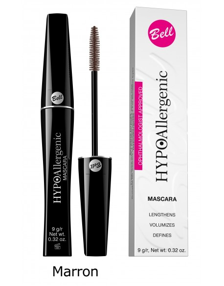 Mascara hypoallergénique marron
