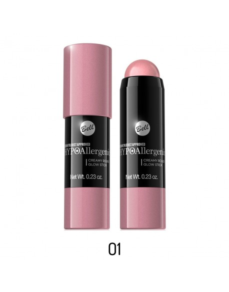 Blush stick hypoallergénique rose